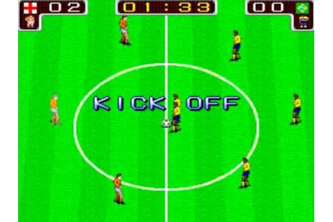 Tecmo World Cup '90 (Arcade Playthrough) - YouTube