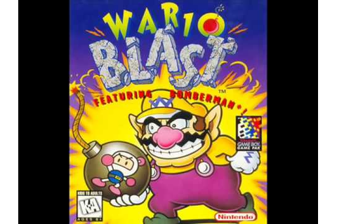 Wario Blast Featuring Bomberman - Game Over - YouTube