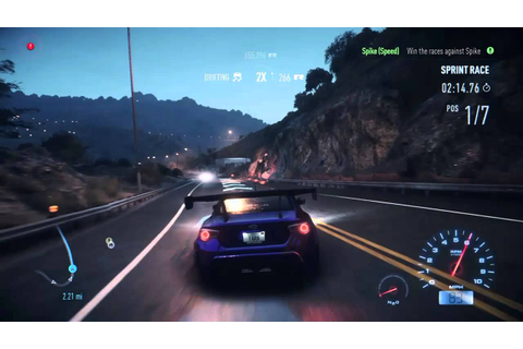 Need for Speed 2015 (PS4) Racing Gameplay - YouTube