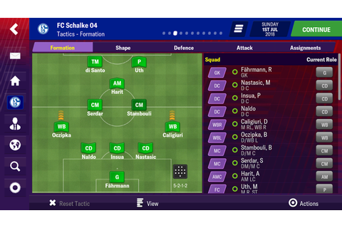 Football Manager 2019 Mobile Screenshots - Football ...