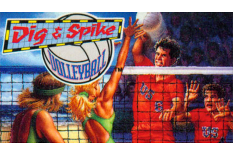 Dig and Spike Volleyball Review [SNES] - YouTube