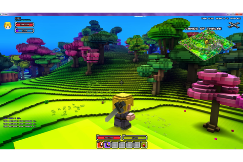 SL Newser - Other Grids, MMOs, and Games: Review of Cube World