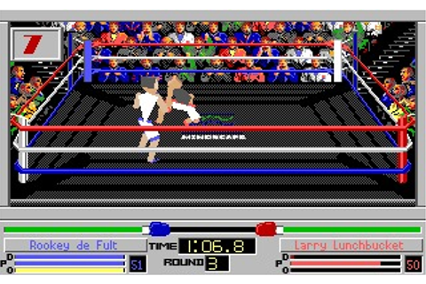 4D Sports Boxing (DOS) Game Download
