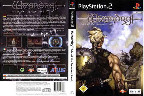 End PS2 Games Melhor Blog de PS2: Wizardry: Tale of the ...