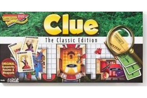 Clue Classic Edition by Winning Moves | Barnes & Noble®