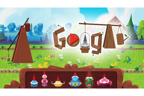 Garden Gnomes New Google Doodle Gameplay - All Gnomes fly ...