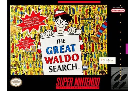 Great Waldo Search, The (SNES) Longplay - YouTube