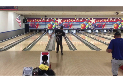 Jason Davis Bowling a 300 Perfect Game Bowl America 2016 ...