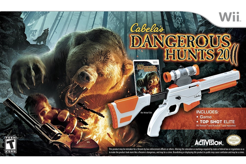 Cabela's Dangerous Hunts 2011 Game & Gun - Wii - IGN