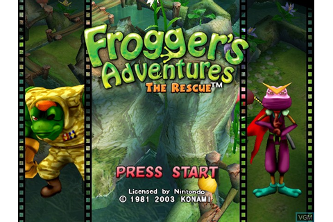 Frogger's Adventures - The Rescue for Nintendo GameCube ...