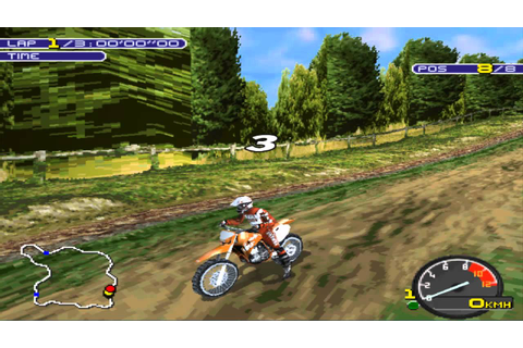 Playstation (PSX) - [13] - Moto Racer 2 - YouTube