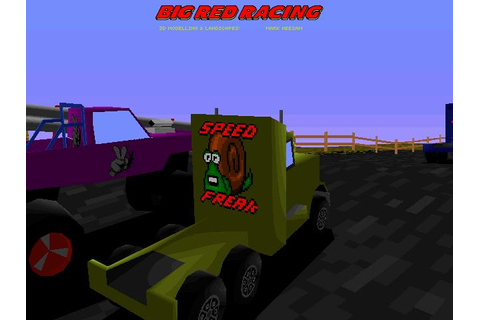 Big Red Racing Download (1995 Sports Game)