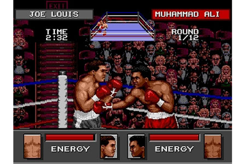 Boxing Game & Matches