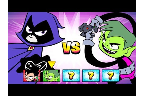 Teen Titans Go - Jump Jousts! - Raven has a Great Sense of ...