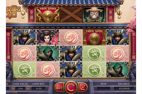 Hanzo's Dojo Slot Machine Game to Play New Zealand (NZ)