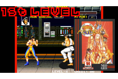 Fight Fever (1994, Neo Geo) - 1st Level - YouTube