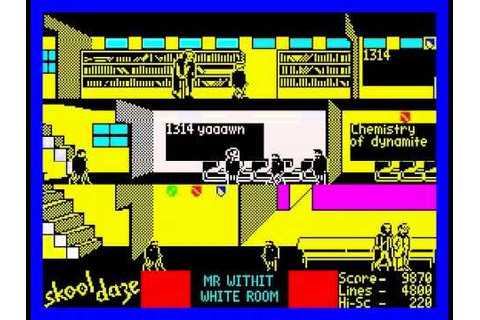 Skool Daze Walkthrough, ZX Spectrum - YouTube