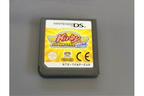Kirby super star ultra - Jeu Game Nintendo Ds Dslite Dsi ...