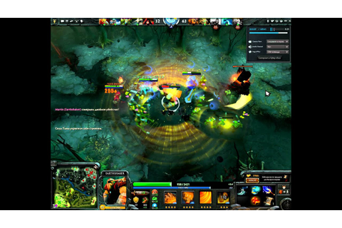 Dota 2 - Earthshaker Ultimate - YouTube