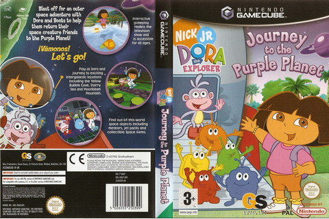 GQLP54 - Dora the Explorer: Journey to the Purple Planet