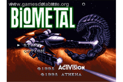 BioMetal - Nintendo SNES - Games Database