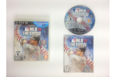 MLB 11: The Show game for Playstation 3 (Complete) | The ...