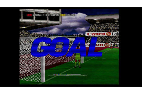 World League Soccer 98-Sega Saturn-Gameplay - YouTube