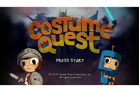 Costume Quest: Walkthrough, GamePlay & Trailer Videos