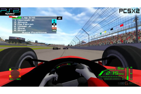 IndyCar Series - PS2 Gameplay 1080p (PCSX2) - YouTube
