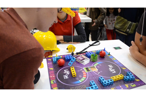 Lift It! game demo at Game Factory's Essen 2014 booth ...