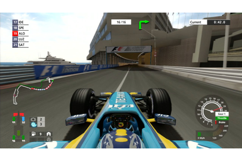 F1 2006 (Championship Edition) Gameplay: Monaco - YouTube