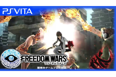 PS Vita - Freedom Wars - Official Gameplay Trailer - YouTube