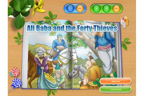Ali Baba and Forty Thieves - Fairy Tale iBigToy app ...