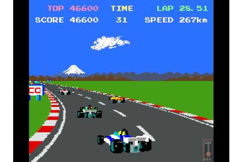 Pole Position (Namco,1982) 62,710 Points Complete (MAME ...