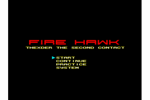 Fire Hawk: Thexder - The Second Contact (1989, MSX2, Game ...