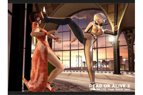 Dead or Alive 3 (2001) by Tecmo Xbox game
