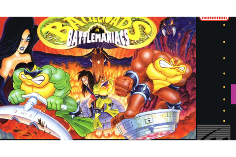 Nerdicus SNES Review #27: Battletoads in Battlemaniacs ...