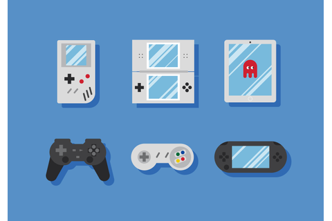 Vector Video Game Icons - Download Free Vector Art, Stock ...