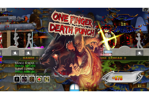One Finger Death Punch | PC Demo Gameplay - YouTube