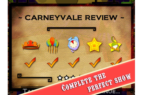 App Shopper: CarneyVale: Showtime (Games)