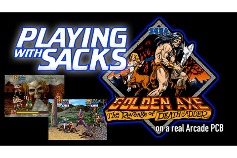 Golden Axe: The Revenge of Death Adder - Arcade ...
