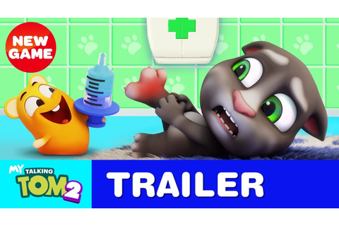 Can You Handle My Talking Tom 2? NEW GAME Official Trailer ...