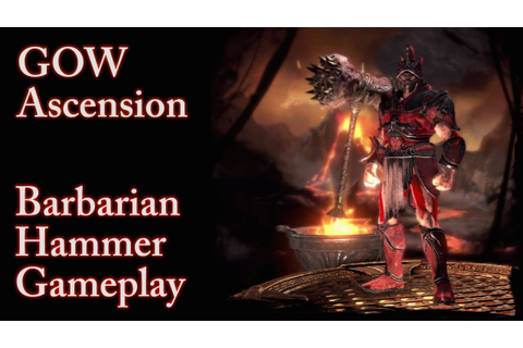 GOW Ascension Multiplayer - Barbarian Hammer Gameplay ...