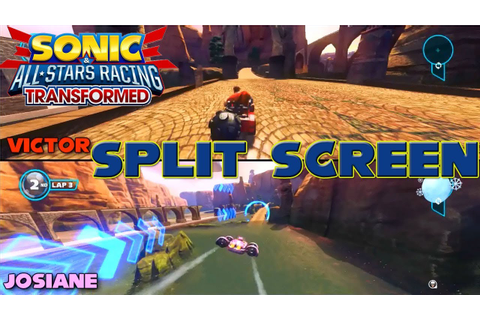 Sonic & All-Star Racing Transformed - PC Split Screen ...