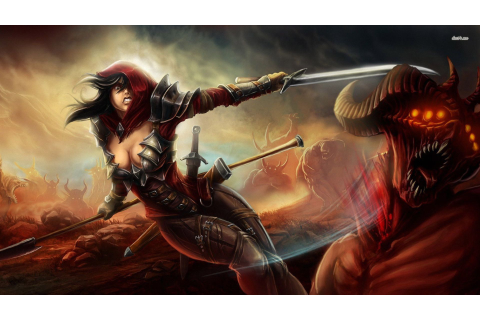 18813-warrior-woman-1920x1080-fantasy-wallpaper.jpg (1920 ...