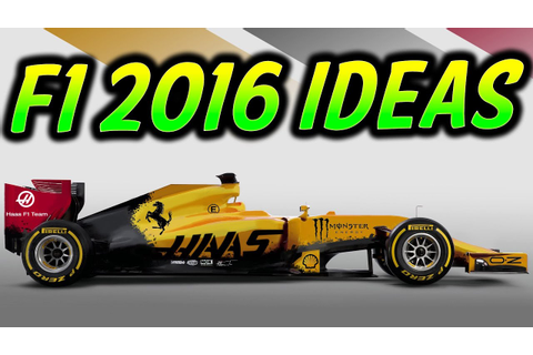 F1 2016 Game Ideas: Career Mode & Online (The Year of Re ...