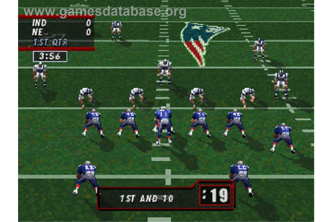 Madden NFL '98 - Sega Saturn - Games Database
