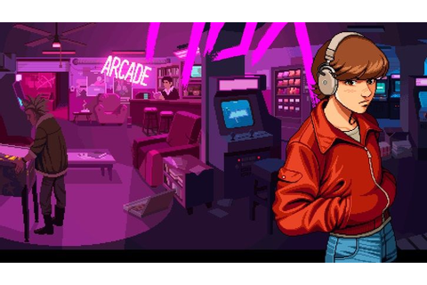 198X is like an entire '80s arcade crammed into one game ...