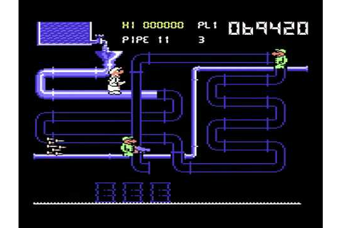 C64 Longplay - Super Pipeline 2 - YouTube