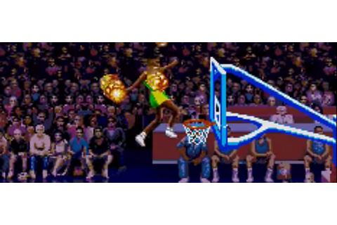 The Behind-the-Scenes Story of 'He's on Fire!' in 'NBA Jam'